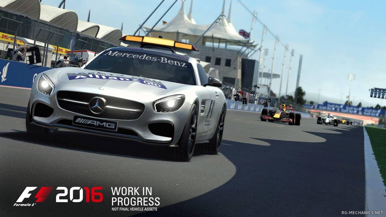 Скриншот к игре F1 2016 (2016) скачать торрент RePack