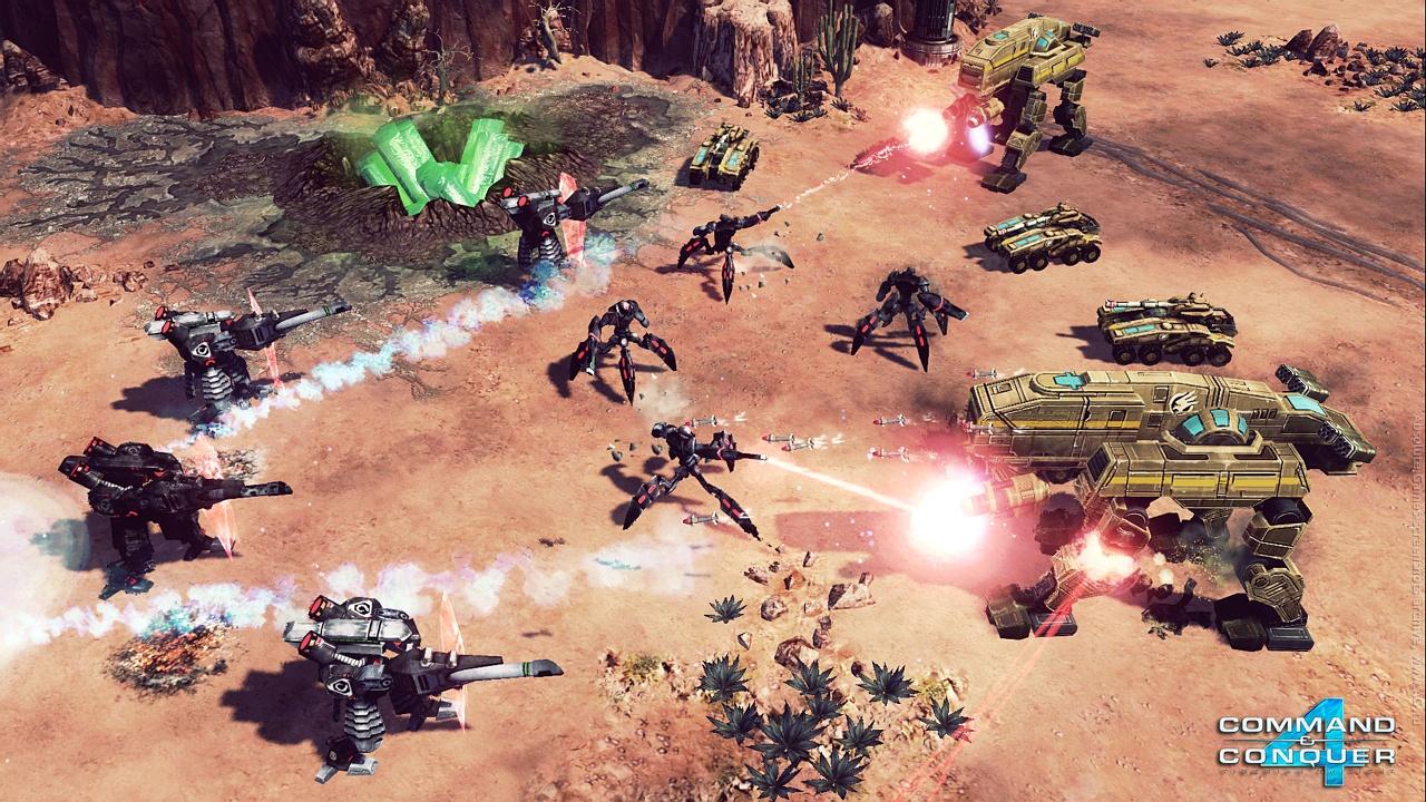 Скриншот к игре Command & Conquer 4: Tiberian Twilight (2010) PC   RePack от R.G. Механики