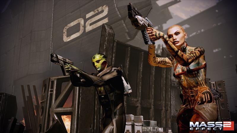 Скриншот к игре Mass Effect 2 (2010) скачать торрент RePack