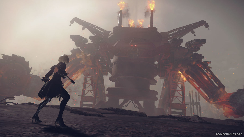 Скриншот к игре NieR: Automata (2017) скачать торрент RePack