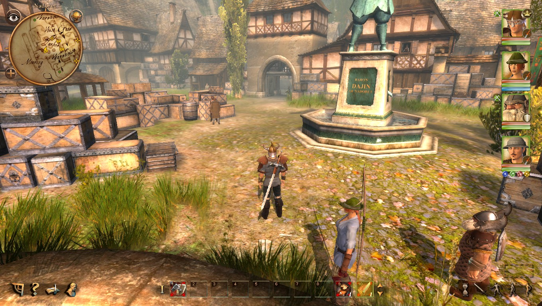 Скриншот к игре Drakensang: Река времени / Drakensang: The River Of Time (2010) PC   RePack от R.G. Механики