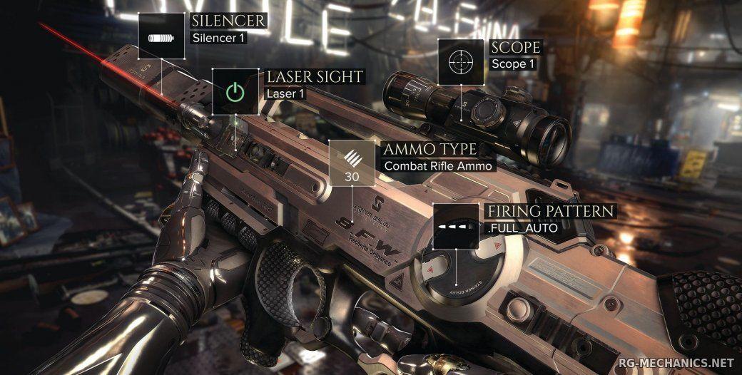 Скриншот к игре Deus Ex: Mankind Divided