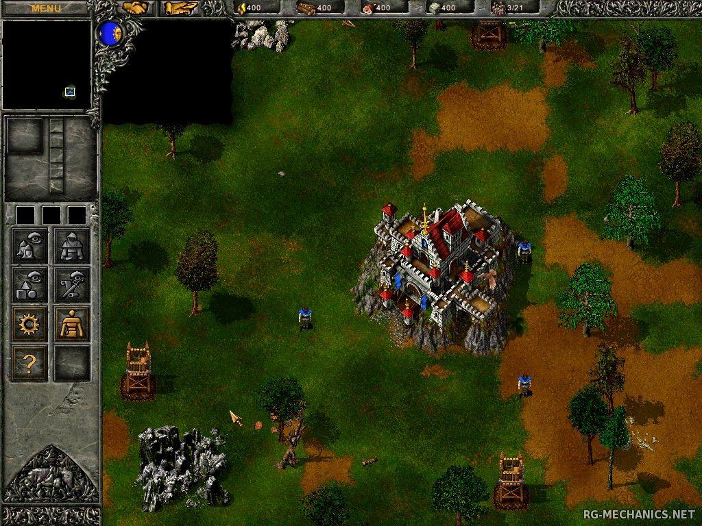 Скриншот к игре Огнём и мечом / Tzar: The Burden of the Crown (1999) PC | RePack от R.G. Механики