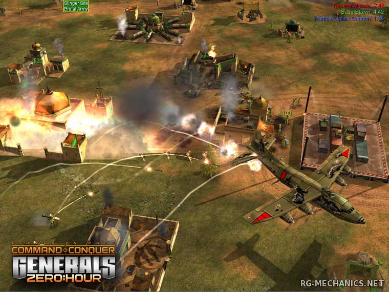 Скриншот к игре Command & Conquer: Generals + Zero Hour (2003) PC | RePack от R.G. Механики