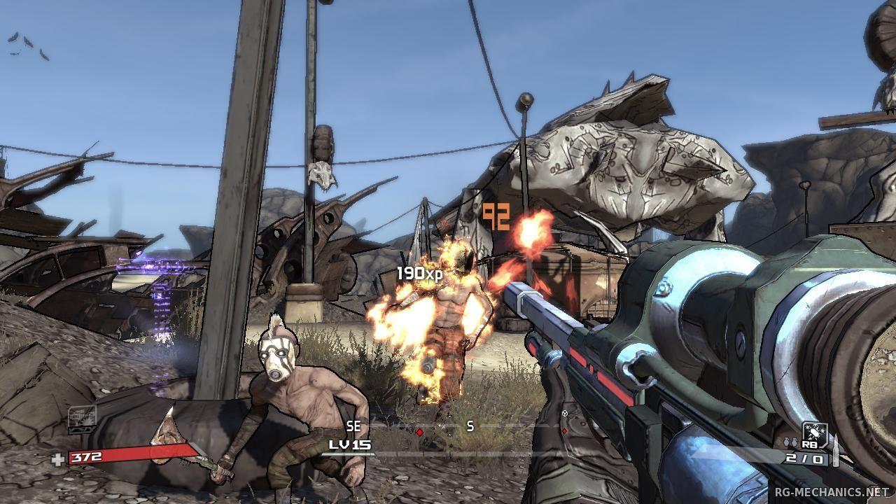 Скриншот к игре Borderlands (2010) PC | RePack от R.G. Механики
