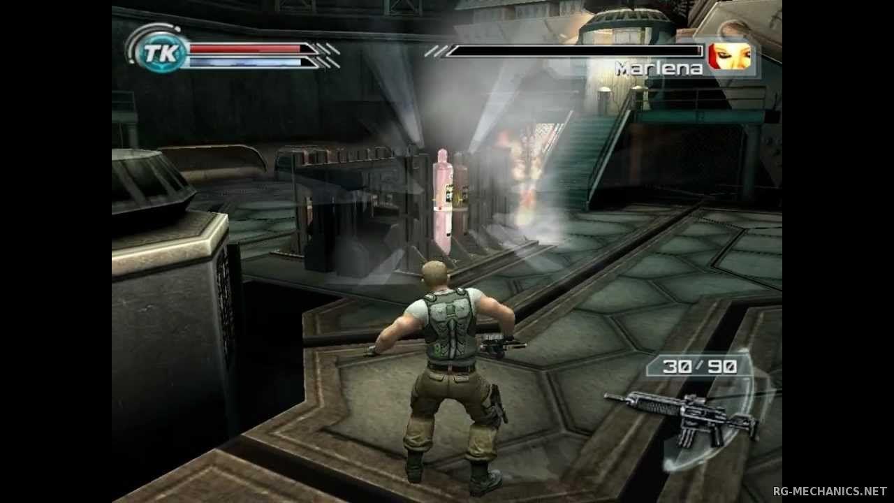 Скриншот к игре Psi-Ops: Врата разума / Psi-Ops: The Mindgate Conspiracy (2005) PC | RePack от R.G. Механики