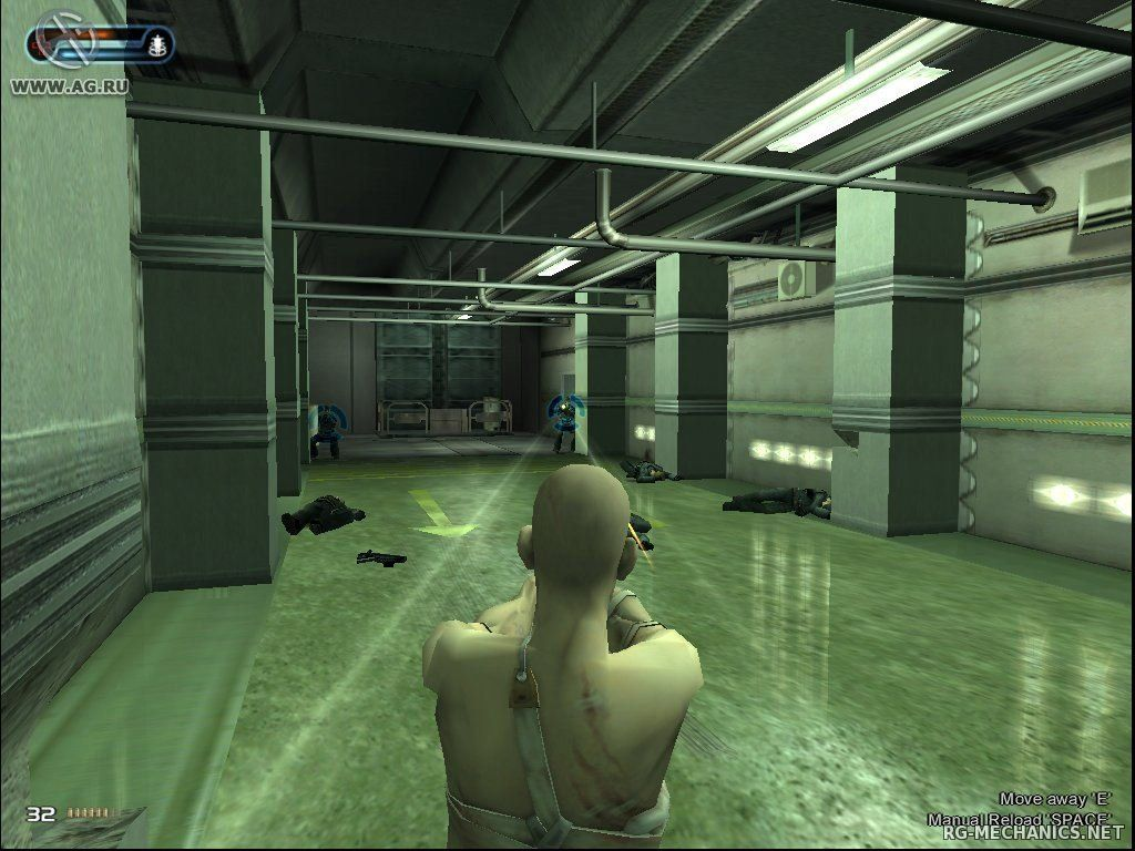 Скриншот к игре Second Sight (2005) PC | Repack от R.G. Механики