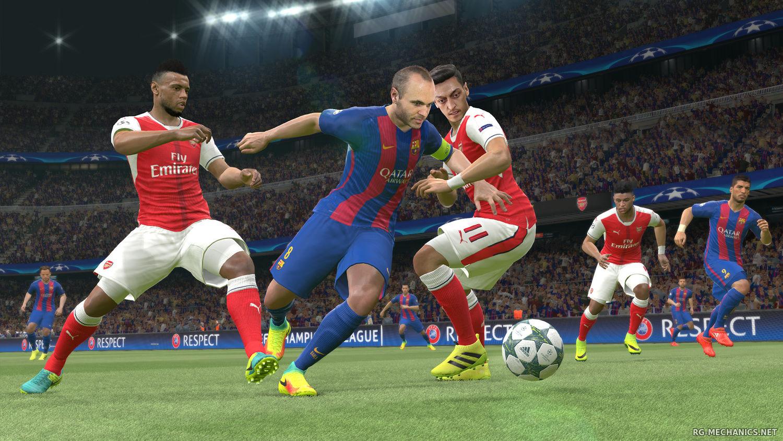 Скриншот к игре Pro Evolution Soccer 2017 / PES 2017