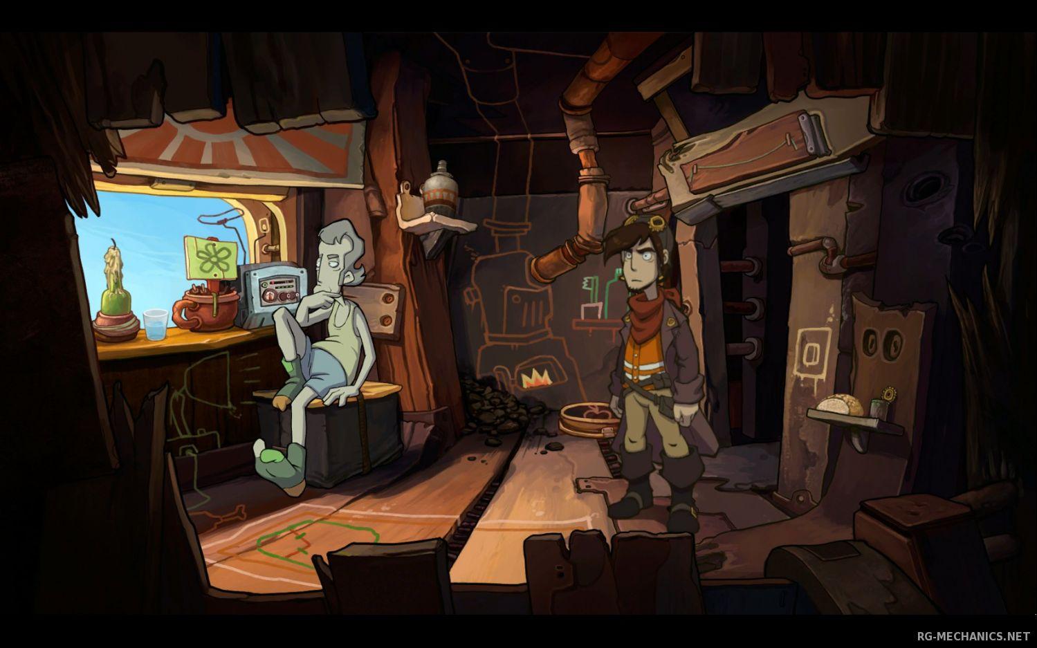 Скриншот к игре Депония 2: Взрывное Приключение / Chaos on Deponia (2012) PC | RePack от R.G. Механики