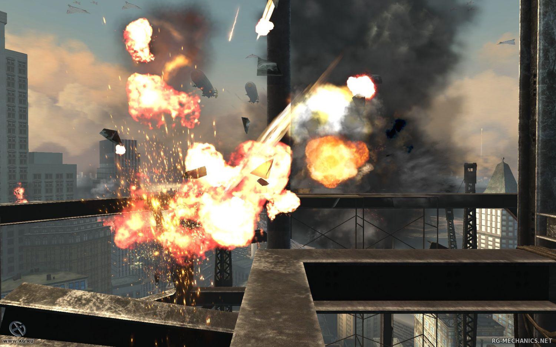 Скриншот к игре Turning Point: Fall of Liberty (2008) PC | RePack от R.G. Механики