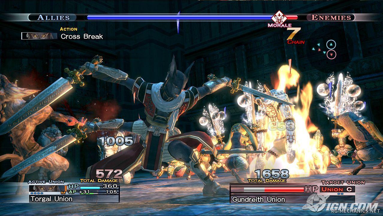 Скриншот к игре The Last Remnant (2009) PC | RePack от R.G. Механики
