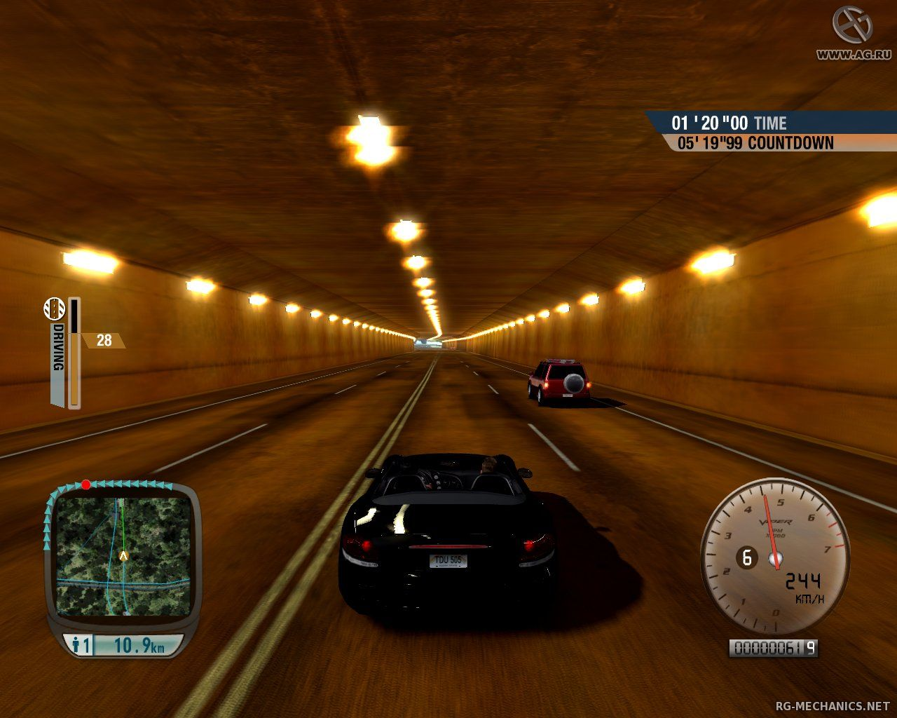 Скриншот к игре Test Drive Unlimited Gold (2008) PC   RePack от R.G. Механики