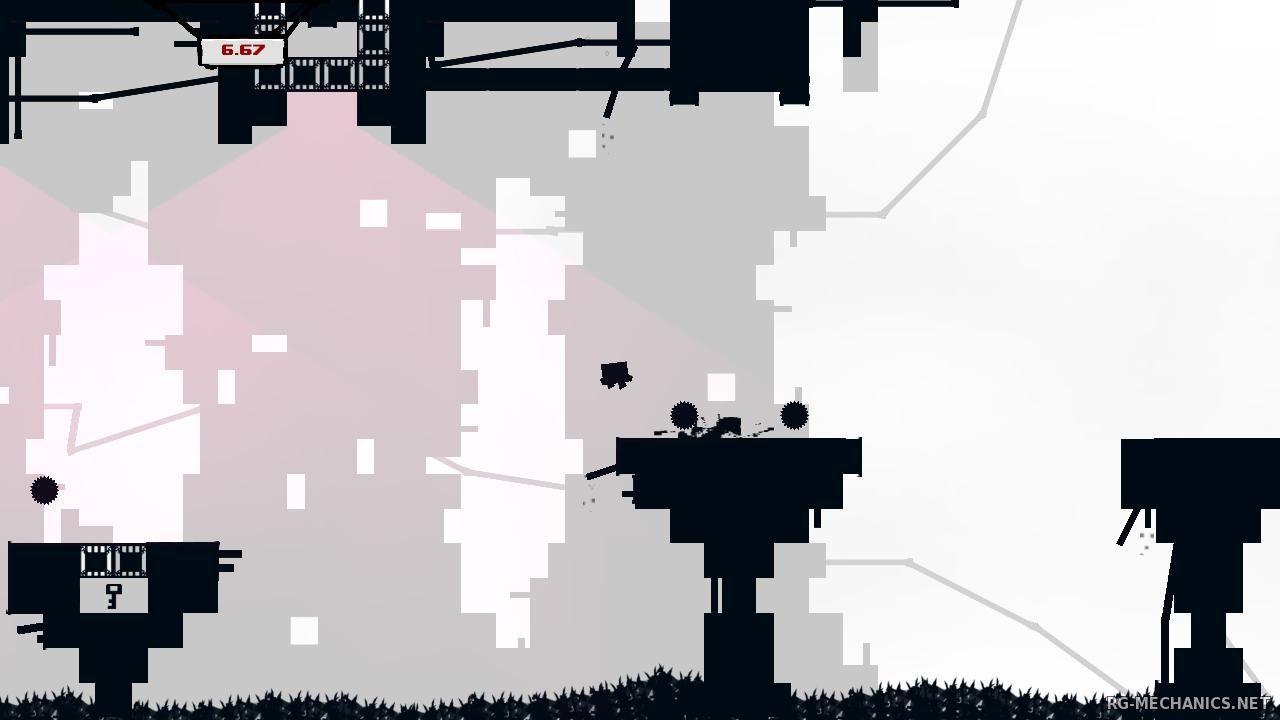 Скриншот к игре Super Meat Boy (2010) РС   RePack от R.G. Механики