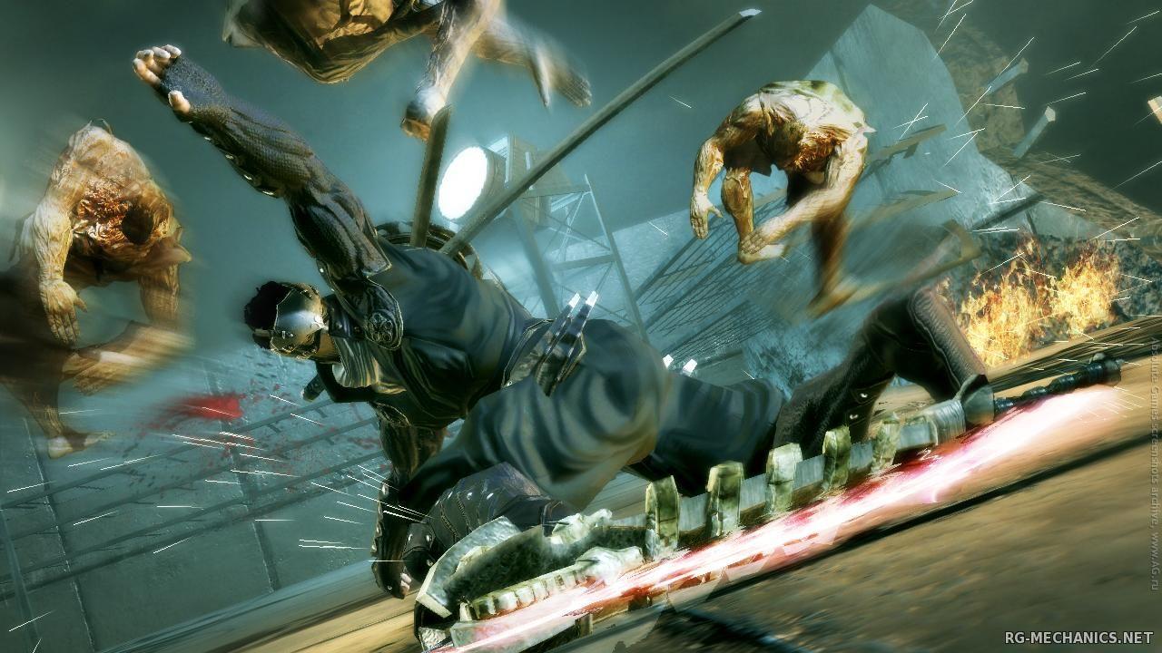 Скриншот к игре Ninja Blade (2009) PC | RePack от R.G. Механики