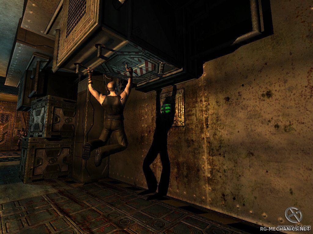 Скриншот к игре The Chronicles of Riddick: Escape from Butcher Bay (2004) PC   RePack от R.G. Механики