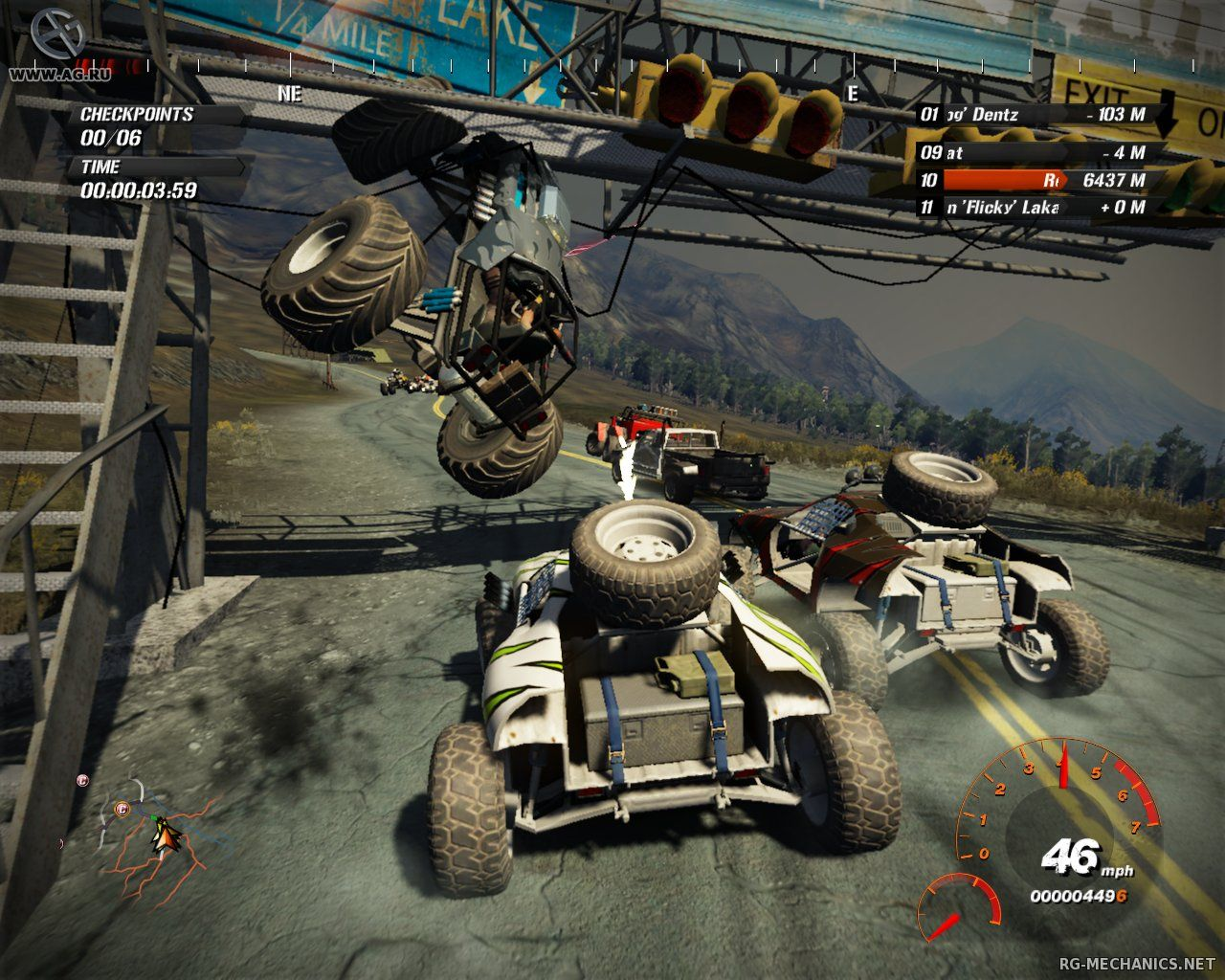 Скриншот к игре FUEL (2009) PC   Repack от R.G. Механики