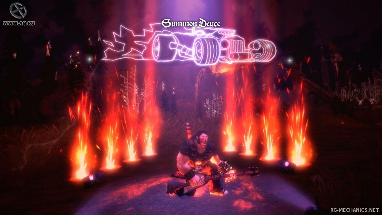 Скриншот к игре Brutal Legend (2013) PC   RePack от R.G. Механики