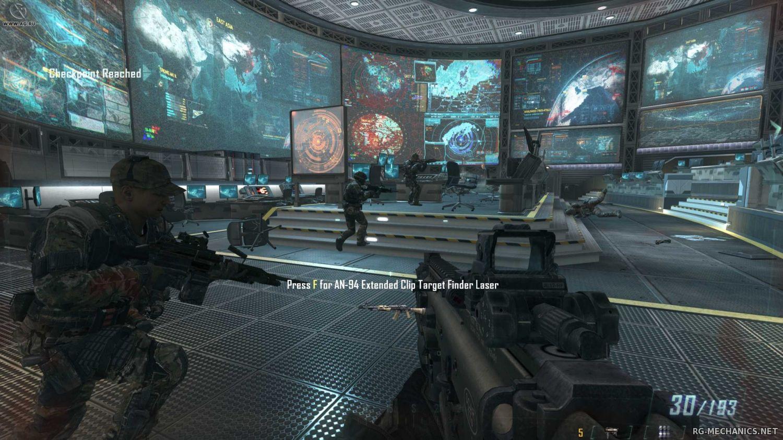 Скриншот к игре Call of Duty: Black Ops 2: Digital Deluxe Edition (2012) PC | Rip от R.G. Механики