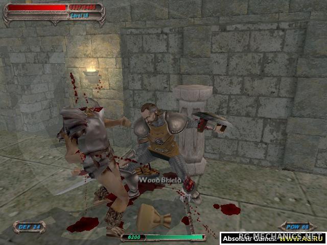 Скриншот к игре Разрыв: Лезвие Тьмы / Severance: Blade of Darkness (2001) PC | RePack от R.G. Механики