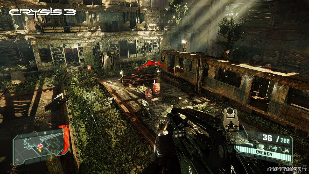 Скриншот к игре Crysis 3 (2013) PC | Rip от R.G. Механики