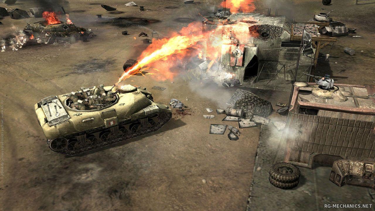 Скриншот к игре Company of Heroes (2013) PC | RePack от R.G. Механики