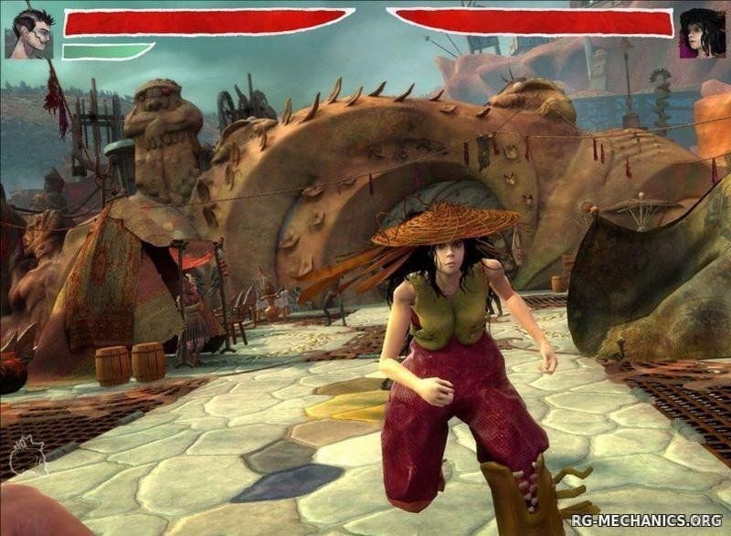 Скриншот к игре Zeno Clash: Дилогия (2009-2013) PC | RePack от R.G. Механики