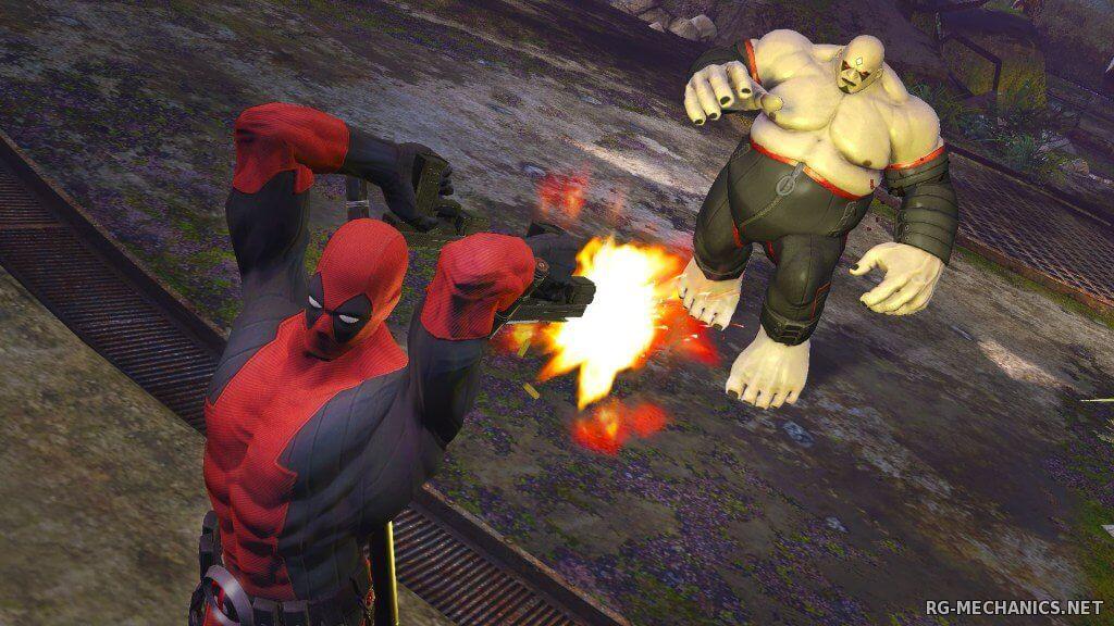 Скриншот к игре Deadpool (2013) PC | RePack от R.G. Механики