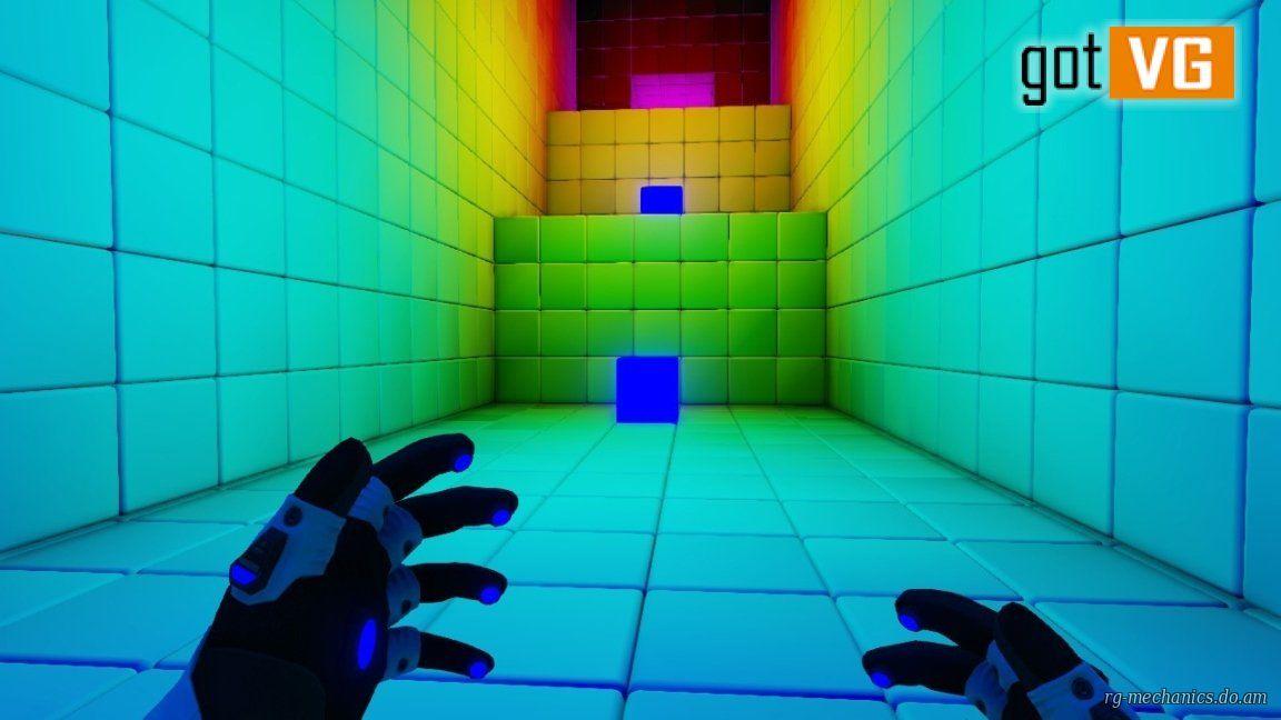 Скриншот к игре Q.U.B.E. Director's Cut (2014) PC | RePack от R.G. Механики