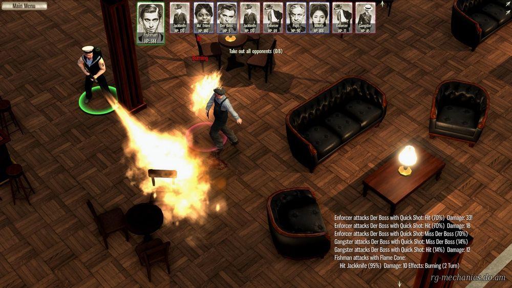 Скриншот к игре Omerta - City of Gangsters (2013) PC | RePack от R.G. Механики