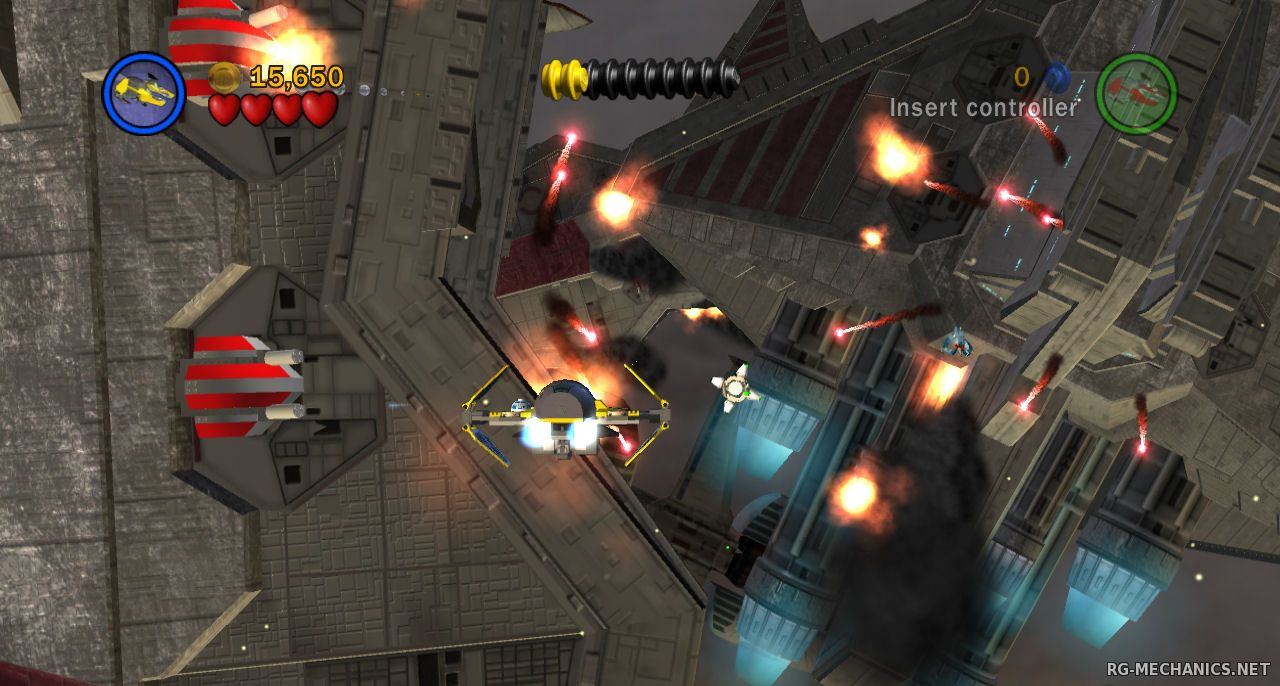 Скриншот к игре LEGO Star Wars: Dilogy (2009 - 2011) PC   RePack от R.G. Механики