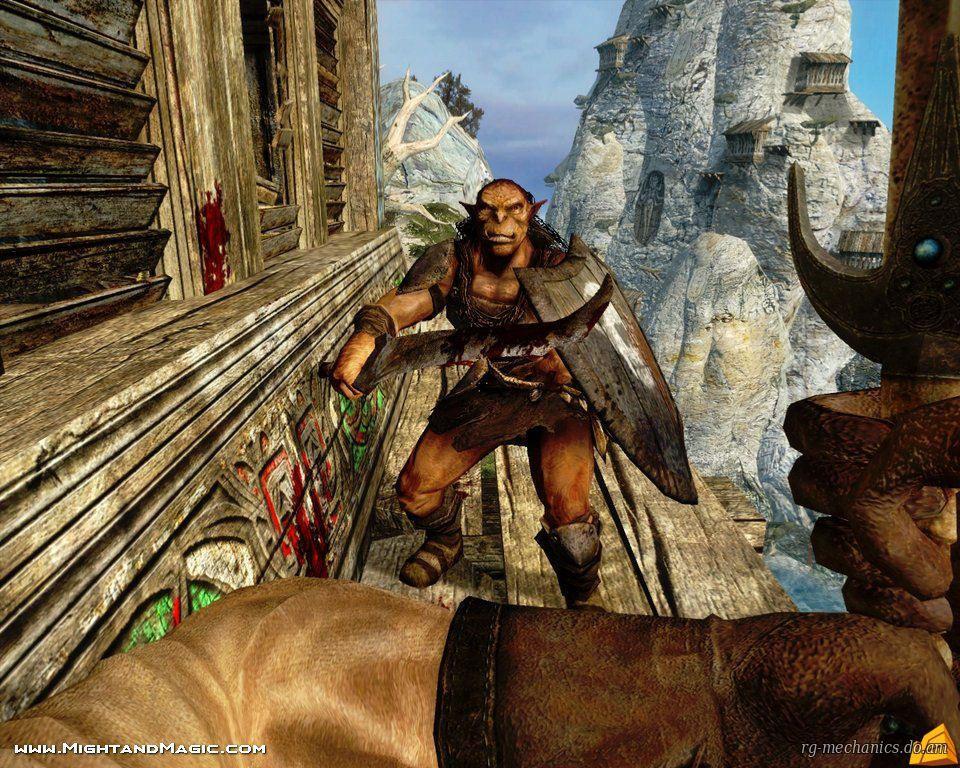 Скриншот к игре Dark Messiah of Might and Magic (2006) PC   Rip от R.G. Механики