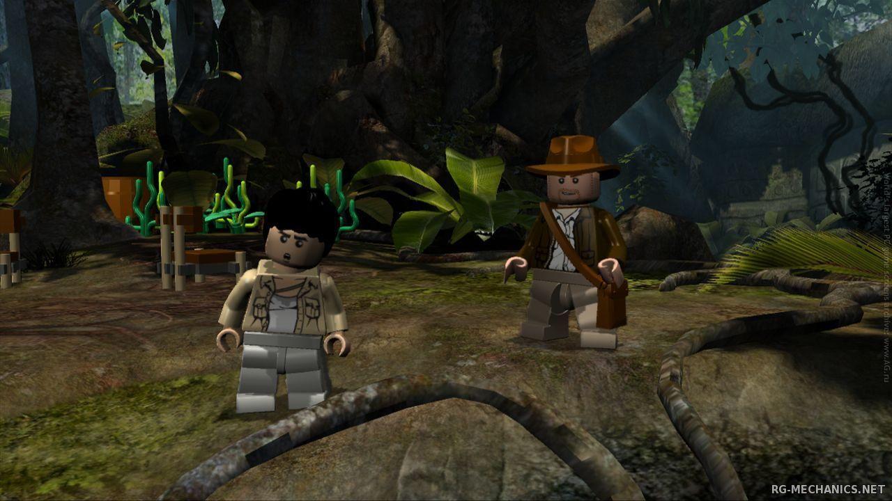 Скриншот к игре LEGO Indiana Jones: Dilogy (2008 - 2009) PC | RePack от R.G. Механики