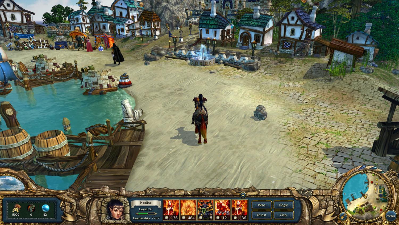 Скриншот к игре King's Bounty: Темная Сторона / King's Bounty: Dark Side (2014) PC | RePack от R.G. Механики