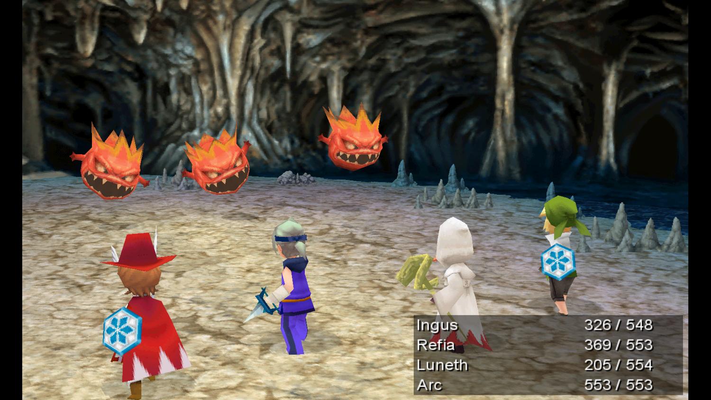 Скриншот к игре Final Fantasy III (2014) PC | RePack от R.G. Механики