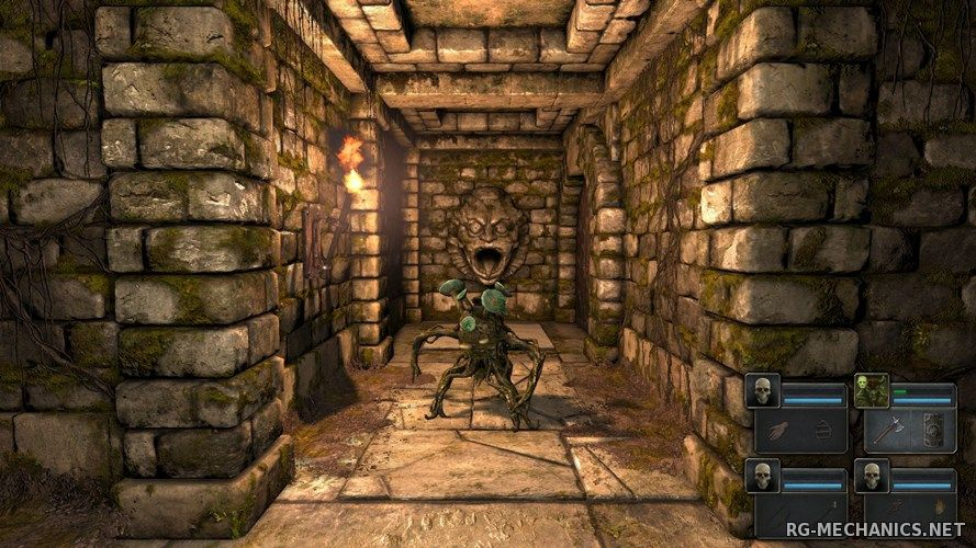 Скриншот к игре Legend Of Grimrock [v 1.3.7] (2012) PC | RePack от R.G. Механики