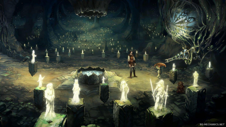 Скриншот к игре The Dark Eye: Chains of Satinav (2012) PC | RePack от R.G. Механики