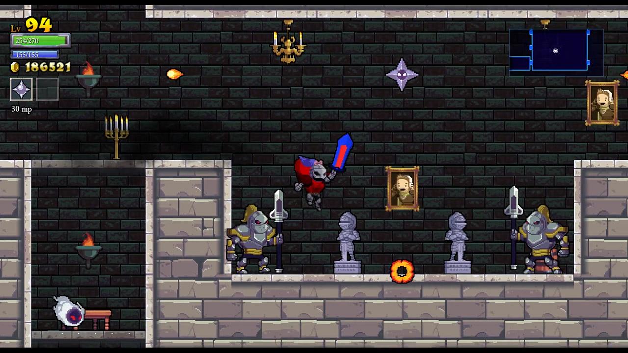 Скриншот к игре Rogue Legacy [GOG] (ENG/RUS/MULTI8) от R.G. GOGFAN (2013) скачать торрент Лицензия