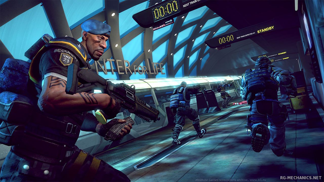 Скриншот к игре Brink (2011) РС   RePack от R.G. Механики