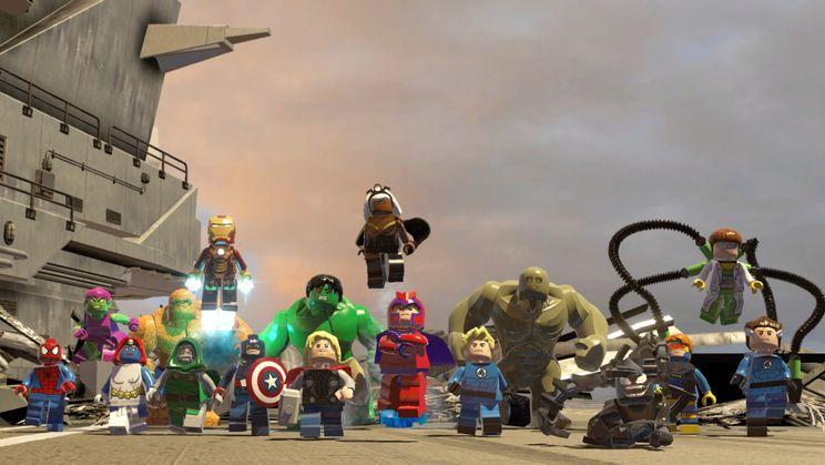 Скриншот к игре LEGO Marvel Super Heroes (2013) скачать торрент RePack