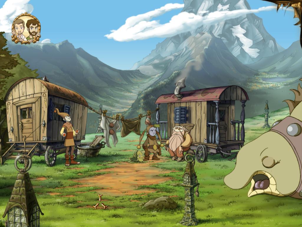 Скриншот к игре Ускользающий мир / The Whispered World - Special Edition (2014) PC   RePack от R.G. Механики