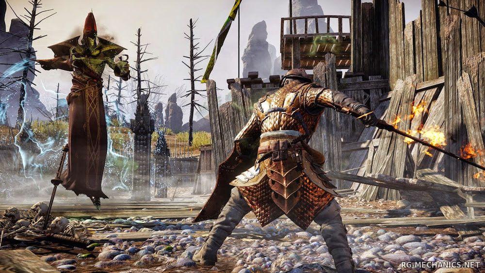 Скриншот к игре Dragon Age: Inquisition - Digital Deluxe Edition [1.12 (Update 12)] (2014) скачать торрент RePack от xatab