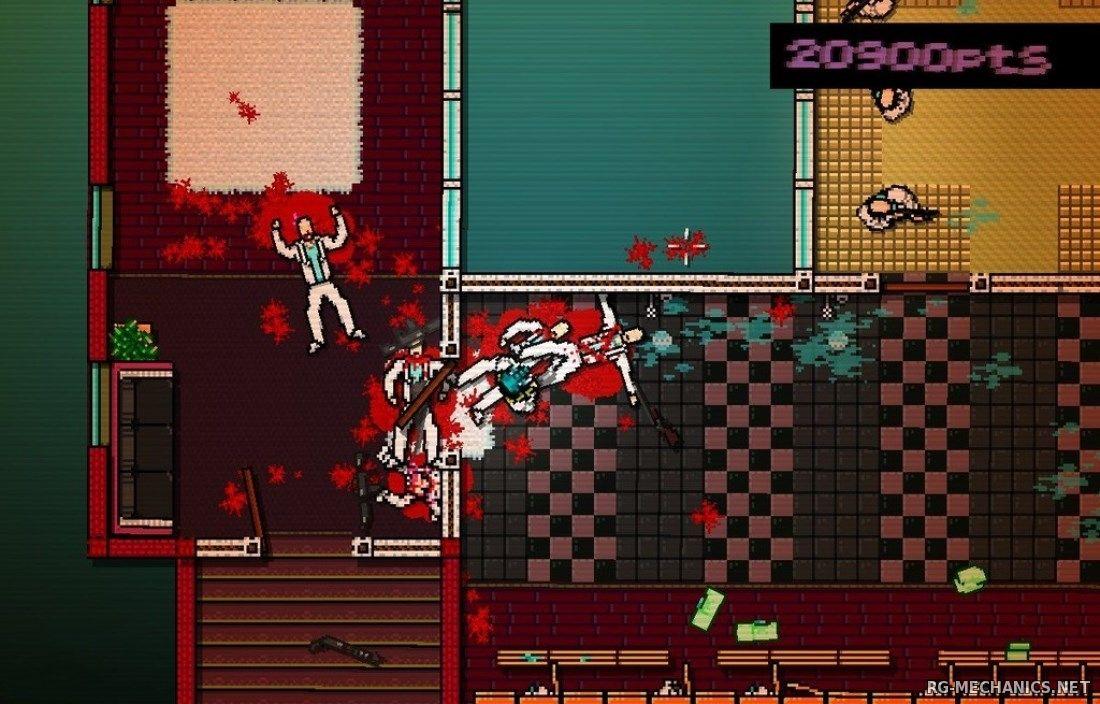 Скриншот к игре Горячая линия Майами / Hotline Miami (2012) PC | RePack от R.G. Механики