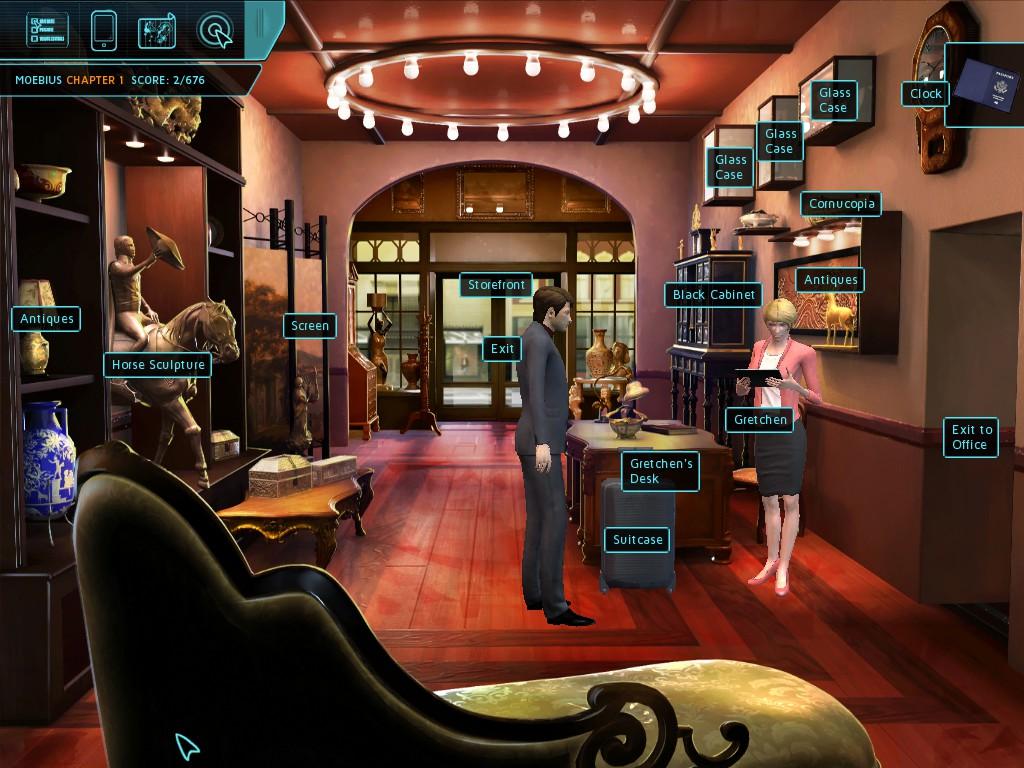 Скриншот к игре Moebius: Empire Rising (2014) PC | RePack от R.G. Механики