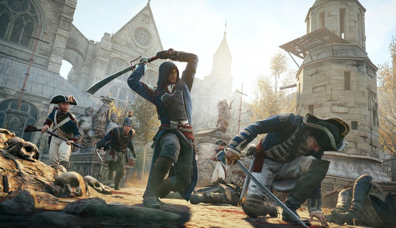 Скриншот к игре Assassin's Creed Unity [v 1.5.0 + DLCs] (2014) PC | RePack от R.G. Механики