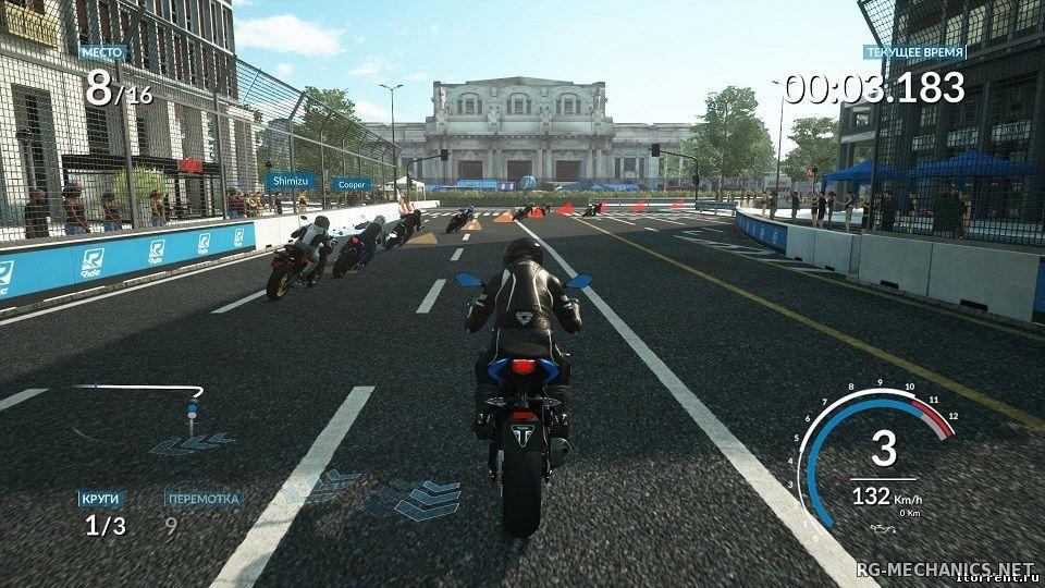 Скриншот к игре RIDE [+ 2 DLC] (2015) PC | RePack от R.G. Механики