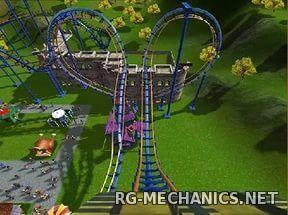 Скриншот к игре RollerCoaster Tycoon 3: Platinum(2006) PC | RePack от R.G. Механики