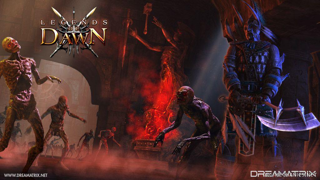 Скриншот к игре Legends of Dawn (2013) PC   RePack от R.G. Механики