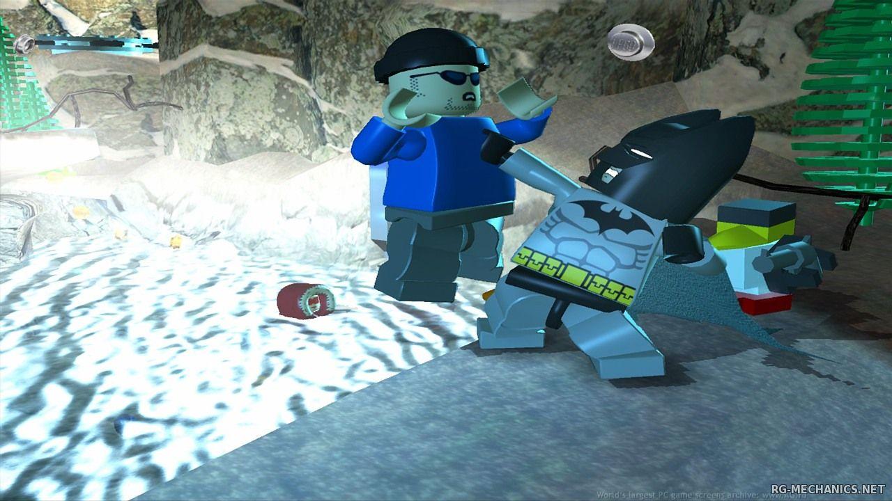 Скриншот к игре LEGO Batman - Trilogy (2008-2014) PC | RePack от R.G. Механики