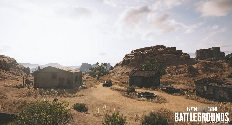 Скриншот к игре PlayerUnknown's Battlegrounds / PUBG