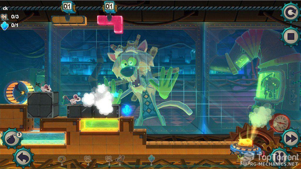 Скриншот к игре MouseCraft [v 1.2] (2014) PC | RePack от R.G. Механики